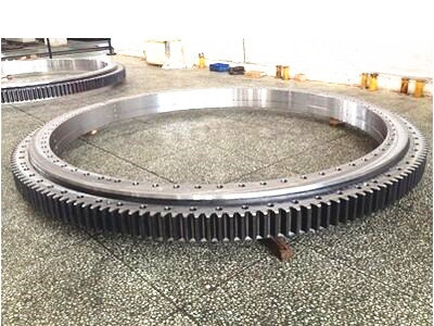 Three-row Cylindrical Roller Slewing Bearing(External Gear Type )